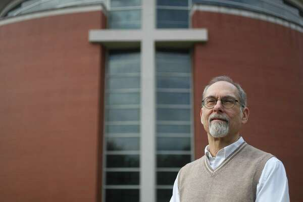 Dr. Eric Johnson, the head of the new Gideon Institute of Christian Psychology and Counseling on the Houston Baptist University campus Tuesday, March 19, 2019, in Houston.