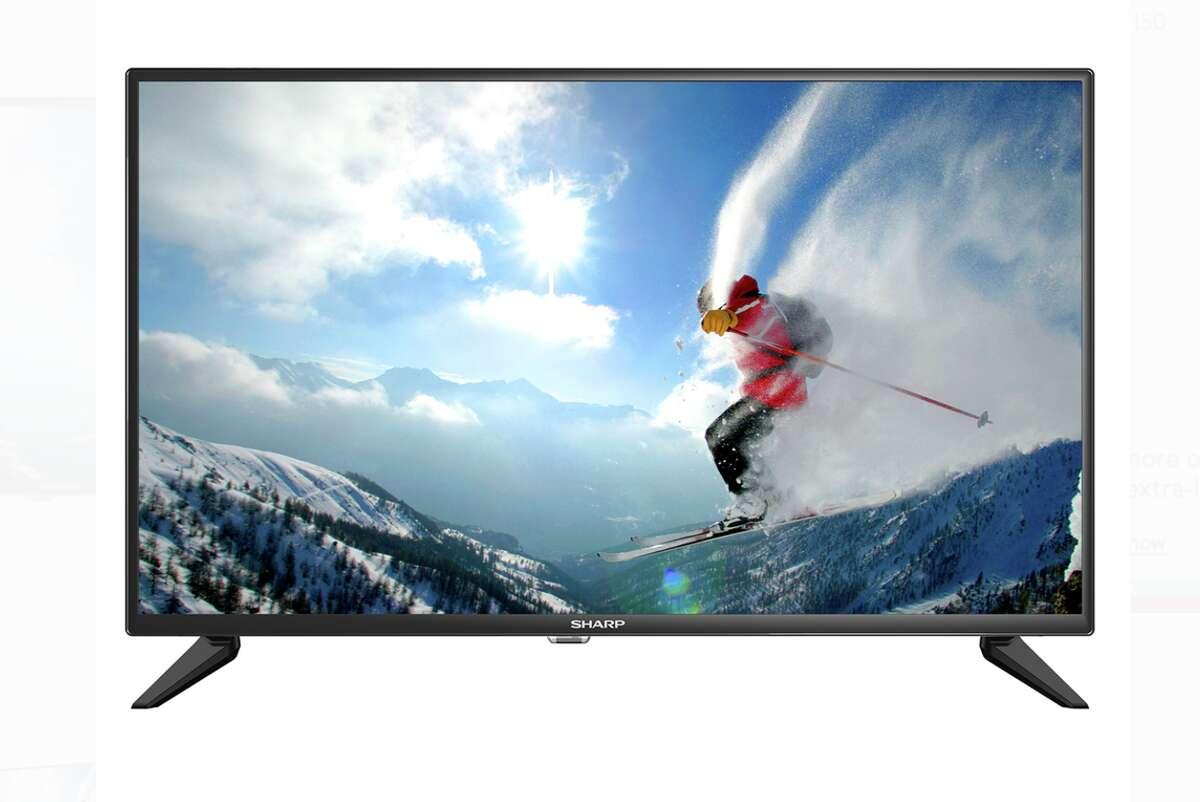 YMMV Sharp 32 Smart TV Price: $30 See the deal: https://slickdeals.net