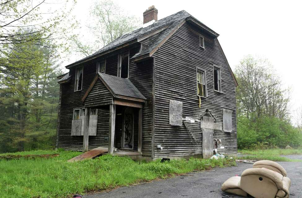 The caretaker's house for the Homestead sanatorium on Thursday, May 23, 2019 in Middle Grove, NY. (Phoebe Sheehan/Times Union)