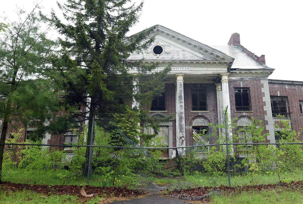 Click through the photos to see images of the Homestead Sanatorium then and now.  The Homestead Asylum on Thursday, May 23, 2019 in Middle Grove, NY. (Phoebe Sheehan/Times Union)