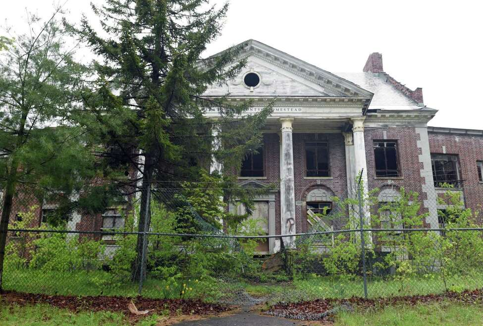 The Homestead sanatorium is going on the auction block. There is no minimum bid. (Phoebe Sheehan/Times Union)