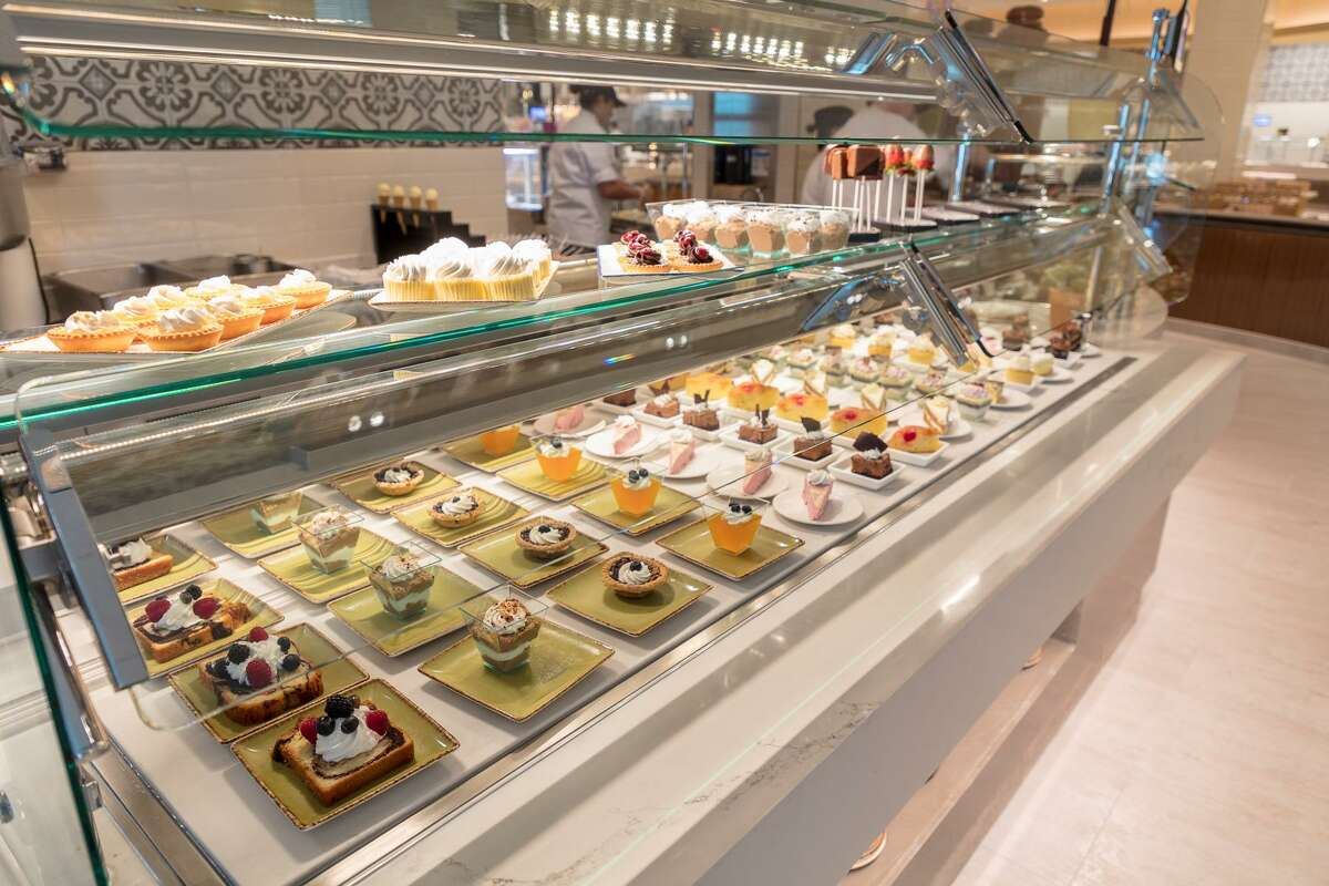 A display of desserts at the Rainmaker Buffet.