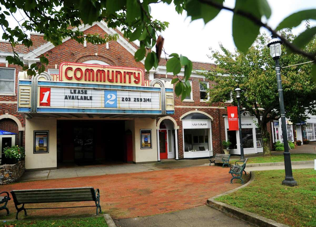 Fairfield Community Theater on the corner of Post and Unquowa Roads Fairfield, Conn. on October 9, 2012.