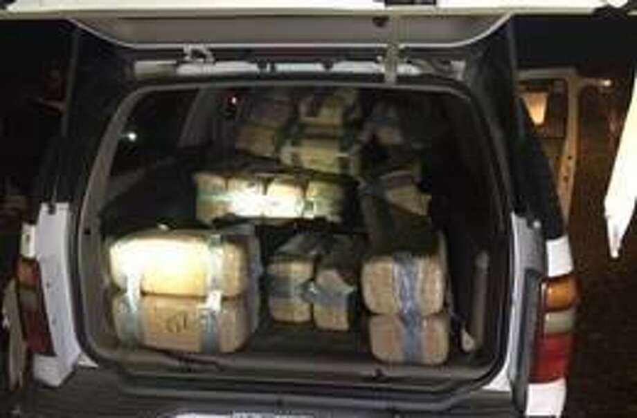 Border Patrol agents assigned to the Zapata Station discovered several abandoned bundles of marijuana in a vehicle near Chihuahua, Texas. Photo: Courtesy Photo
