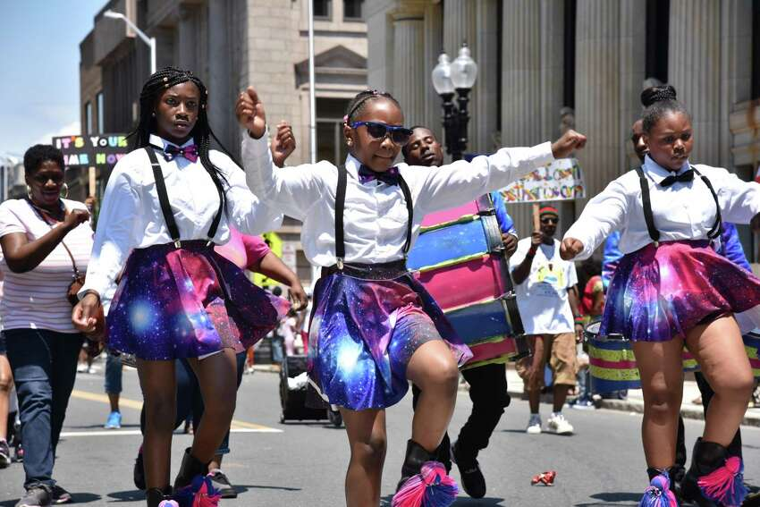 Bridgeport, Conn. celebrates Juneteenth Day with a parade and festival on Saturday, June 10, 2017. The Juneteenth African-American Caribbean Parade and Festival commerates the freeing of the last slaves in the U.S. on June 19, 1865. The Amistad Center for Art & Culture Virtual Juneteenth Community Day Celebration When: June 19, 7-9 p.m. Where: Virtual What: Hosted by Leslie Mayes, a reporter for NBC Connecticut.
