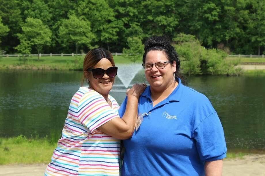 Change Inc. of Middletown hosted a client appreciation day Friday at McCutcheon Park on Crystal Lake in honor of Mental Health Awareness Month. Photo: Contributed Photo
