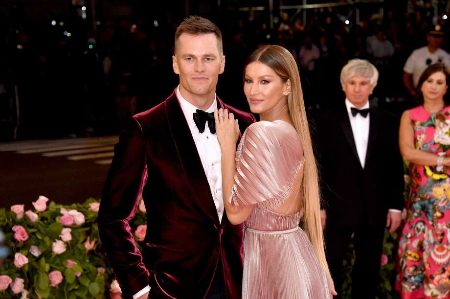 NEW YORK, NEW YORK - MAY 06: Tom Brady and Gisele Bündchen attend The 2019 Met Gala Celebrating Camp: Notes on Fashion at Metropolitan Museum of Art on May 06, 2019 in New York City. (Photo by John Shearer/Getty Images for THR) Photo: John Shearer/Getty Images For THR / 2019 John Shearer