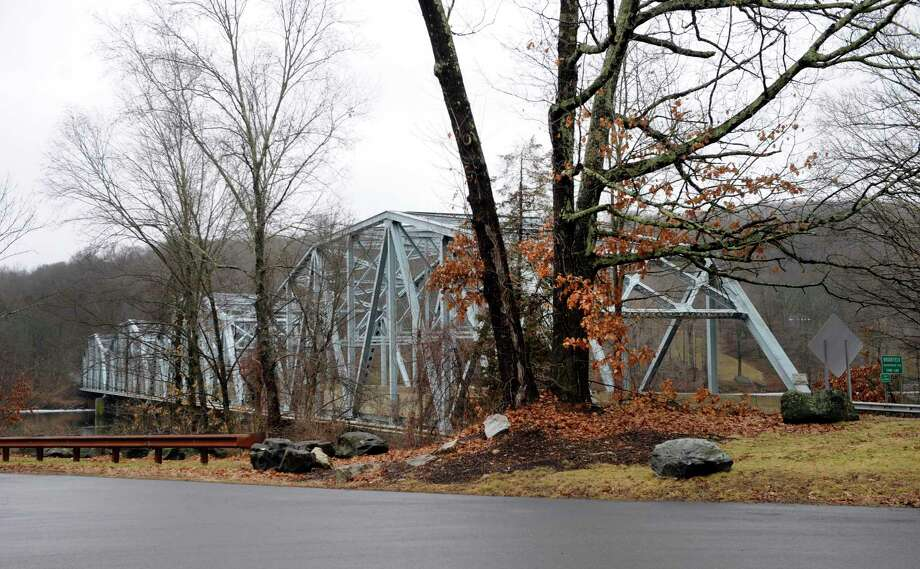 The state is planning to rehabilitate the Route 133 bridge on the Brookfield-Bridgewater border that runs over the Housatonic River. Photo Wednesday, January 18, 2017. Photo: Carol Kaliff / Hearst Connecticut Media / The News-Times