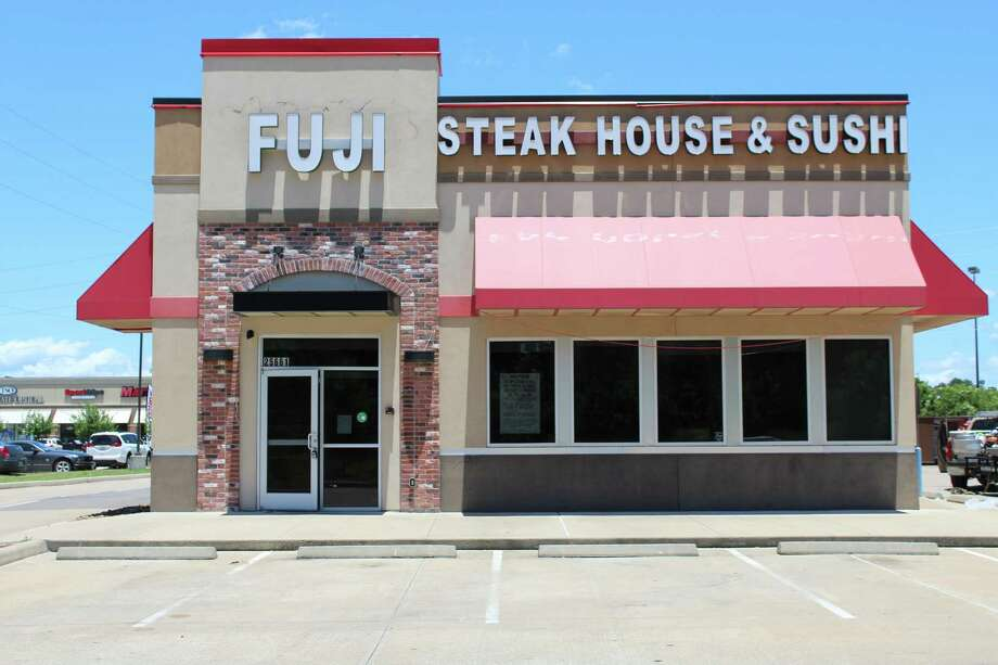 Fuji Steakhouse & Sushi, located in between Taco Cabana and Panera Bread on Northpark Drive in Kingwood, will open this summer. Photo: Kaila Contreras