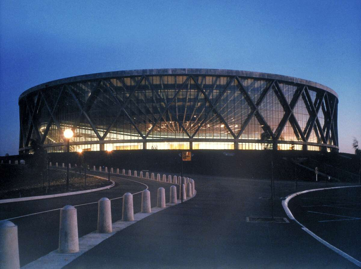 The Oakland Arena as it looked before its debut in the fall of 1966. The team is taking its dispute with Oakland-Alameda County Coliseum Authority over the outstanding debt on the 1996 renovation of the arena to the state Supreme Court.