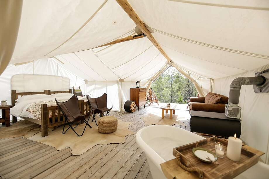 Under Canvas was one of the early entrants into the U.S. glamping market, opening its first location near Yellowstone National Park in 2012. Photo: Tiffany Rose