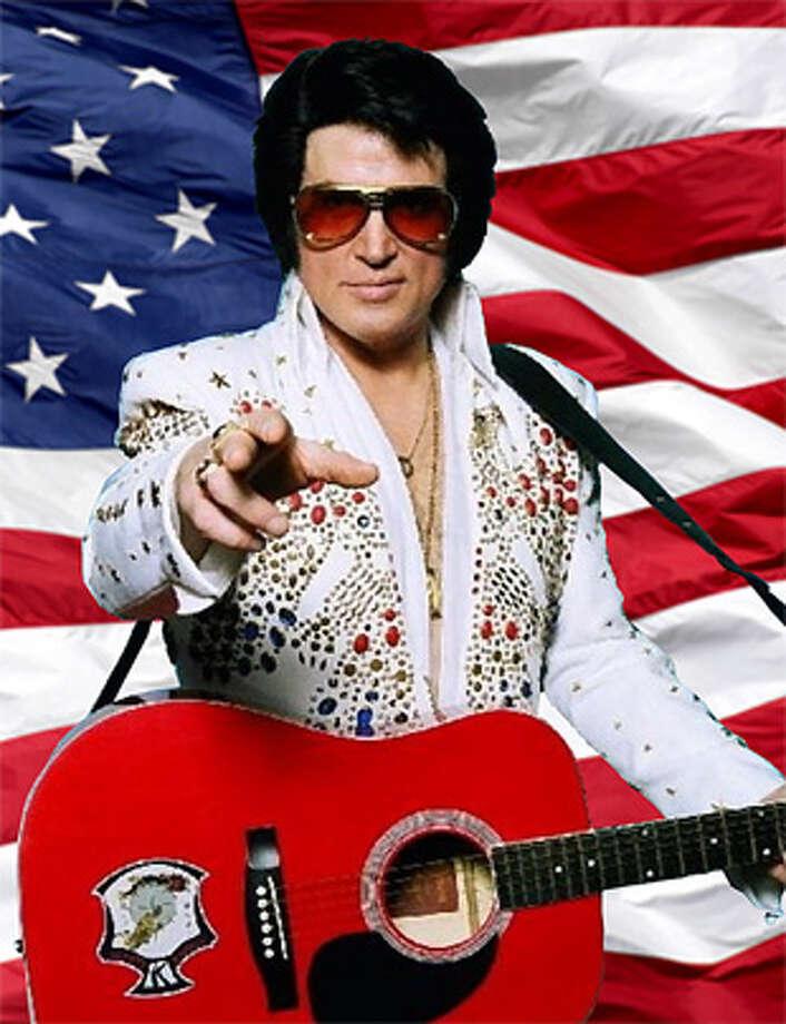 Doug Church as Elvis Presley.