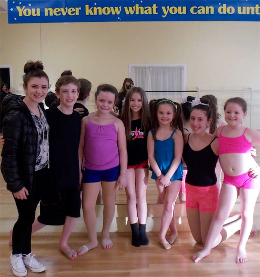 "Students of That's Showbiz! in Shelton will be seen on the new Lifetime television series ""Abby's Studio Rescue."""