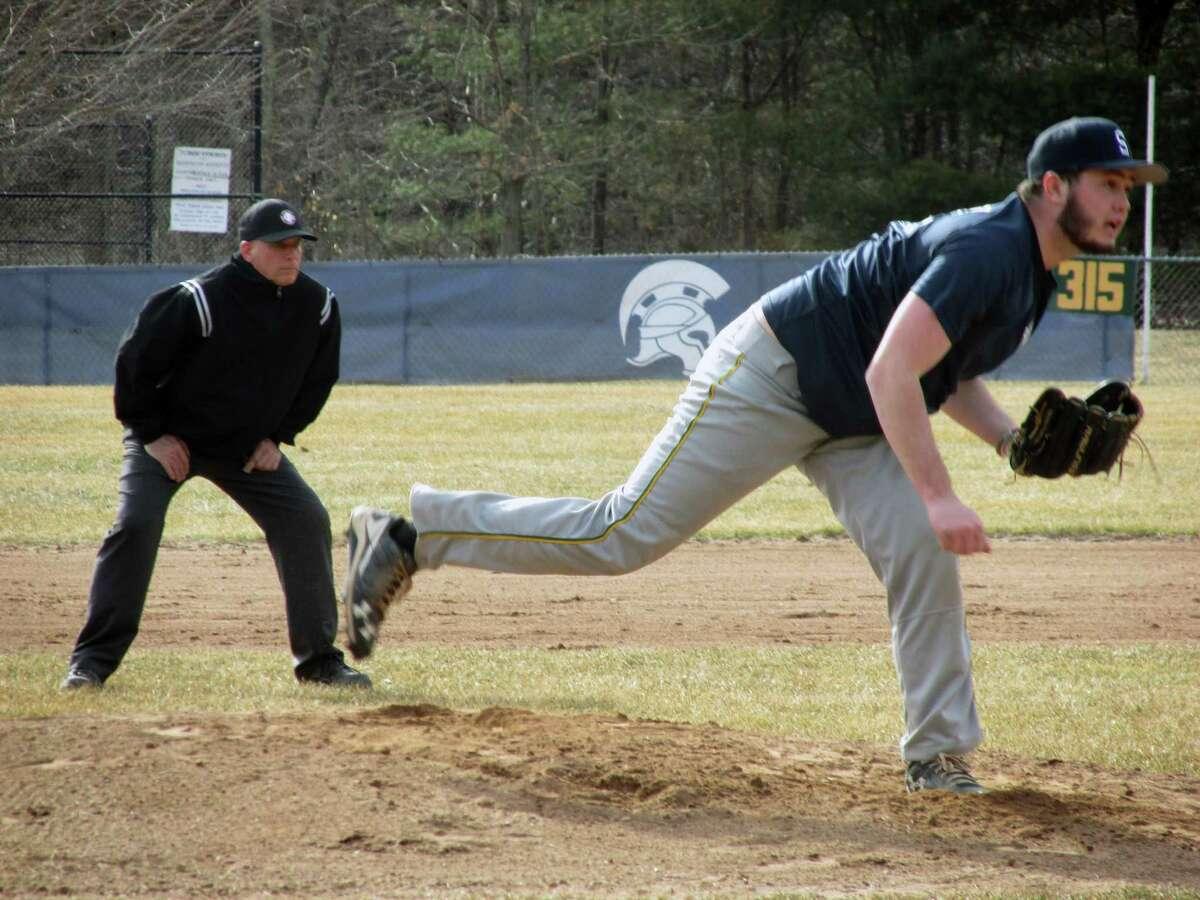 Shepaug pitcher Chance Dutcher.