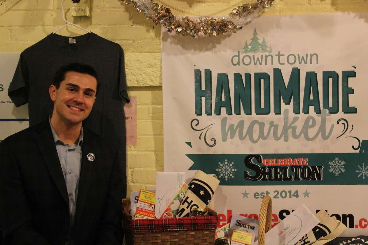 Jimmy Tickey, one of three founders of Celebrate Shelton, helped facilitate the 'Plaid Friday' handmade market that took place on Black Friday.