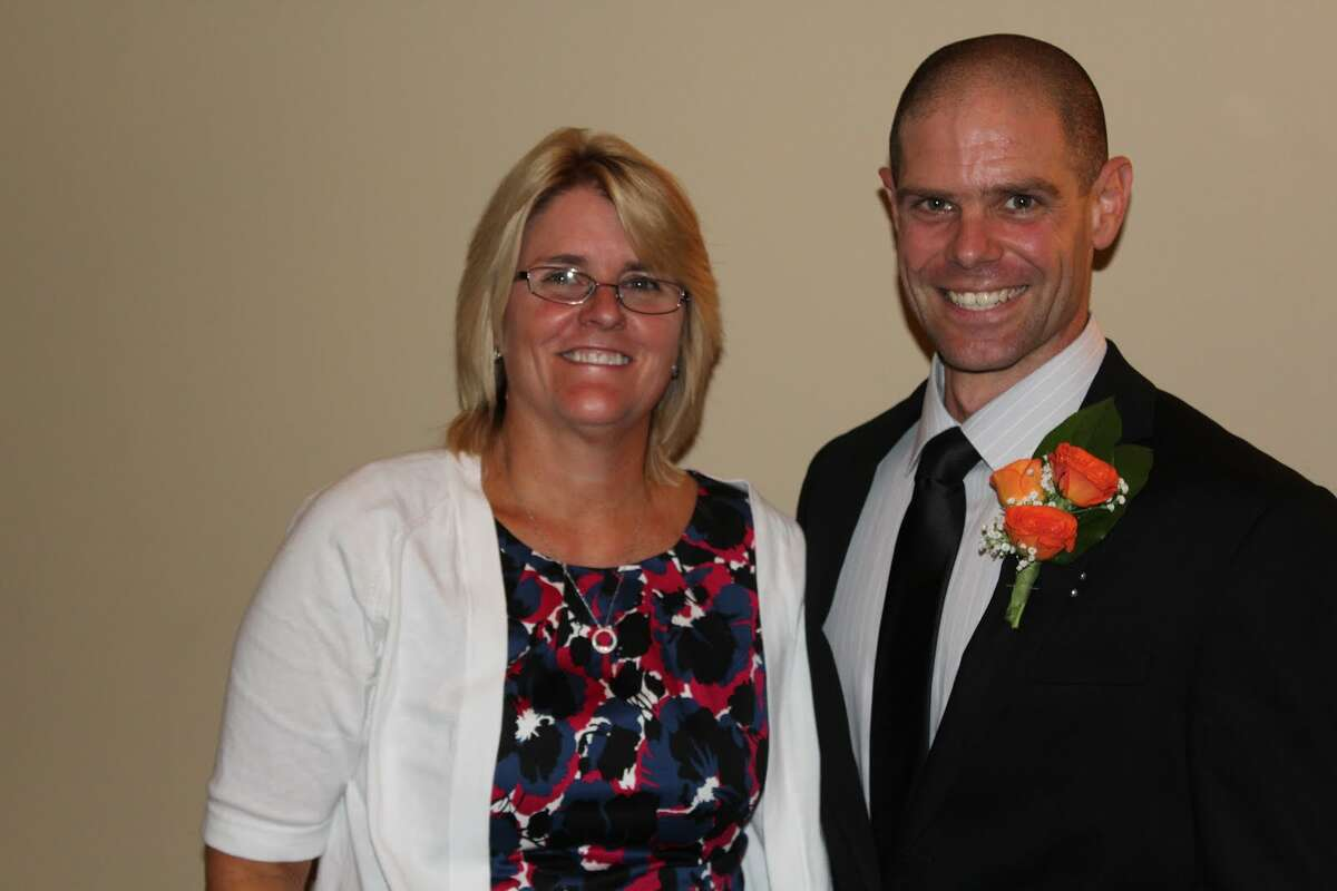 Debra Tucker and Brad Piccirillo said they were both humbled by the award and hope to continue their success in years to come. - Aaron Berkowitz photo