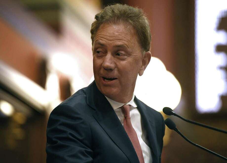 Connecticut Gov. Ned Lamont addresses the House and the Senate at the State Capitol in Hartford, Conn., Thursday, June 6, 2019. Photo: Jessica Hill / Associated Press / Copyright 2019 The Associated Press. All rights reserved
