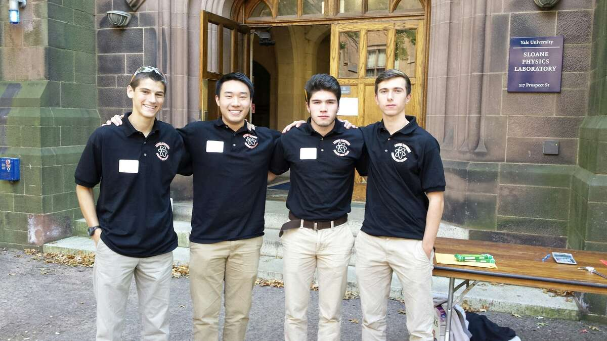 Pictured from left to right: Joseph Niski, Henry Jiang, Christopher Pereira and James Hunter