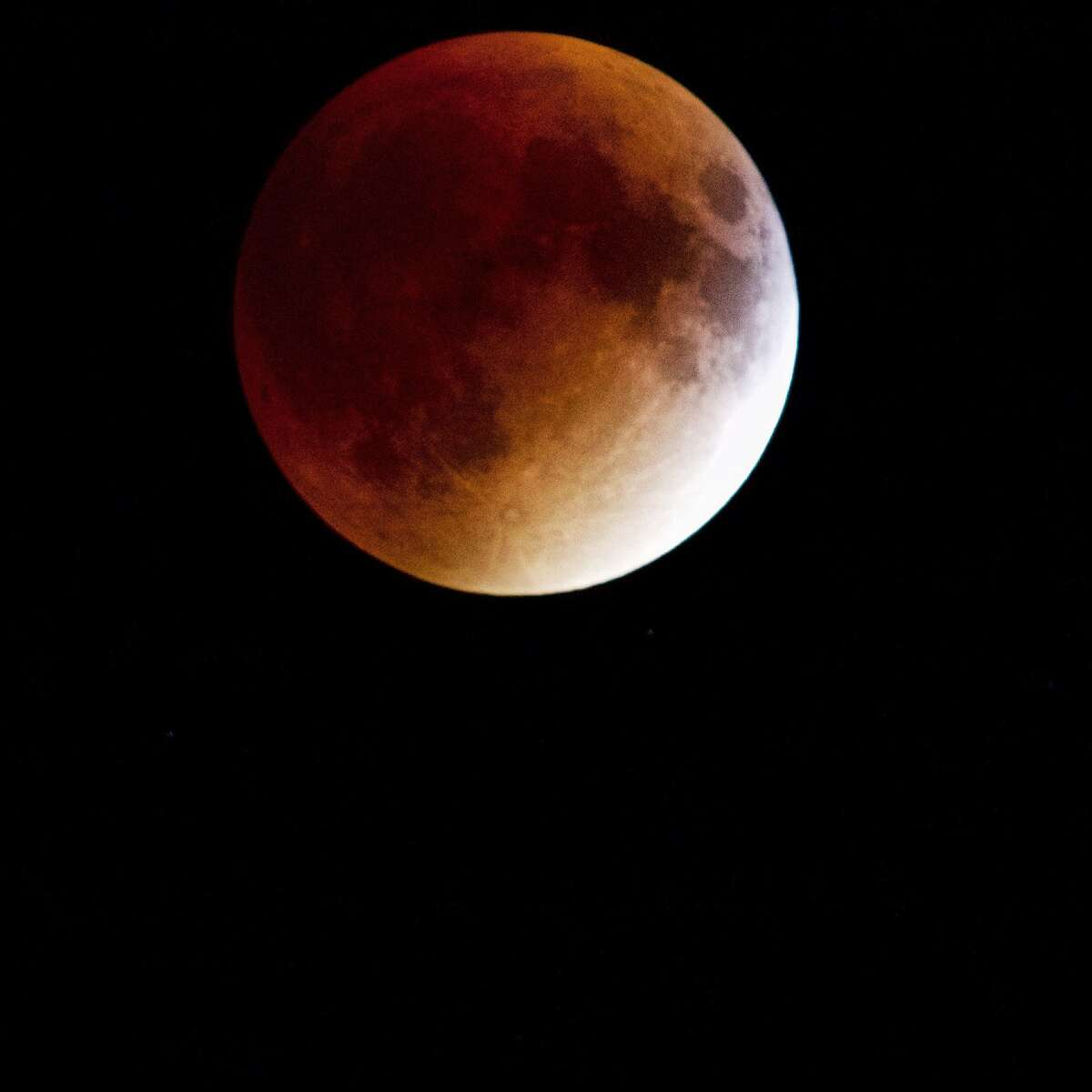 Marcin Stawiarski took this photo of the moon shining over Shelton