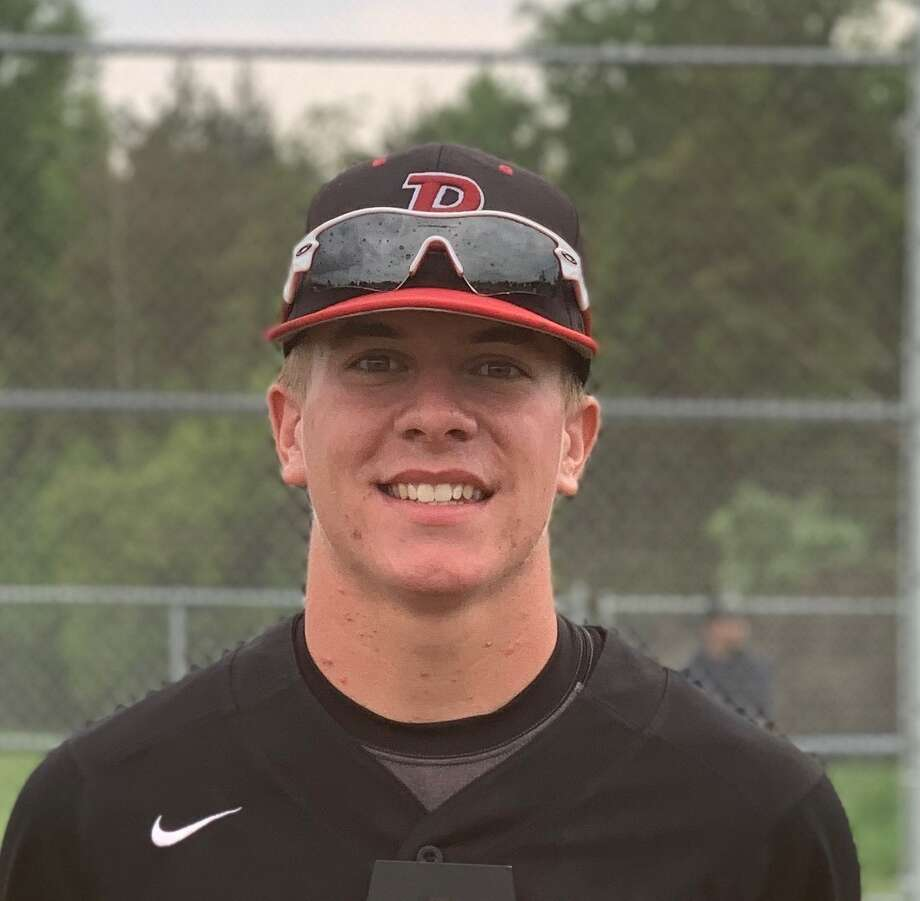 Beaverton's Nathan Longstreth has been hit by pitches a state-record 31 times — and counting — this baseball season. Photo: Photo Provided