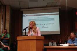 Jenny McGown was chosen as the lone finalist for superintendent of Klein ISD during a special meeting of the board of trustees on June 6, essentially making her the next superintendent for the school district.