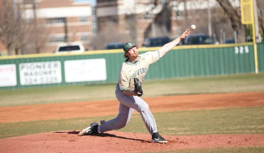 Science and Arts of Oklahoma pitcher Colton Williams, a Magnolia West alum, was recently selected as the NAIA Pitcher of the Year. Photo: USAO Athletics