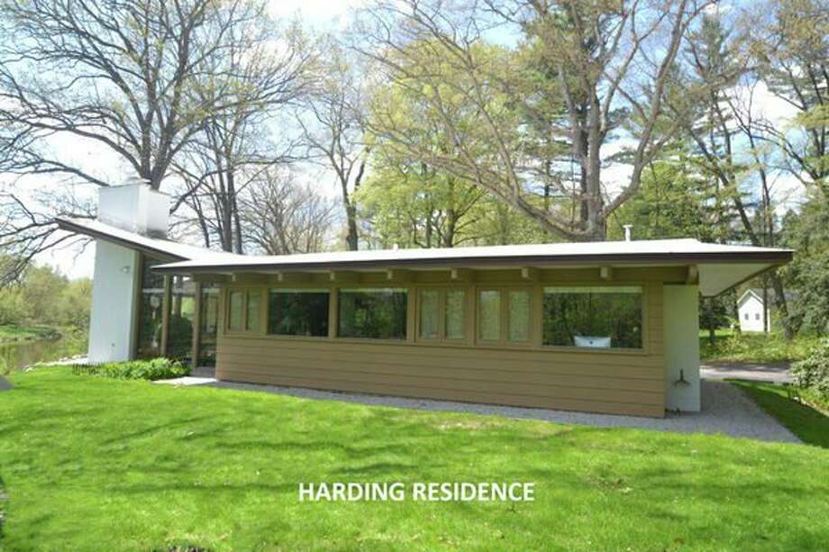 The Harding Residence, 3319 Rivercrest Court, Midland, designed by Warner in 1962 for Kenneth and Audrey Harding and their family. (photo provided)