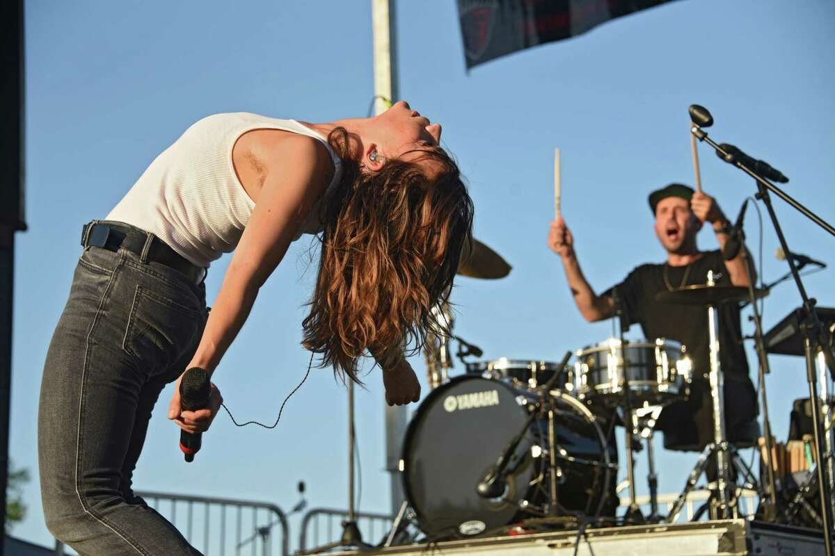 Albany's Office of Cultural Affairs is canceling this year's Alive at Five concerts, saying social-distancing rules in place until at least June 21 make such mass gatherings impossible. In this photography, Donna Missal performs as Alive at Five concerts kicks off at Jennings Landing at the Corning Preserve on Thursday, June 6, 2019 in Albany, N.Y. (Lori Van Buren/Times Union)