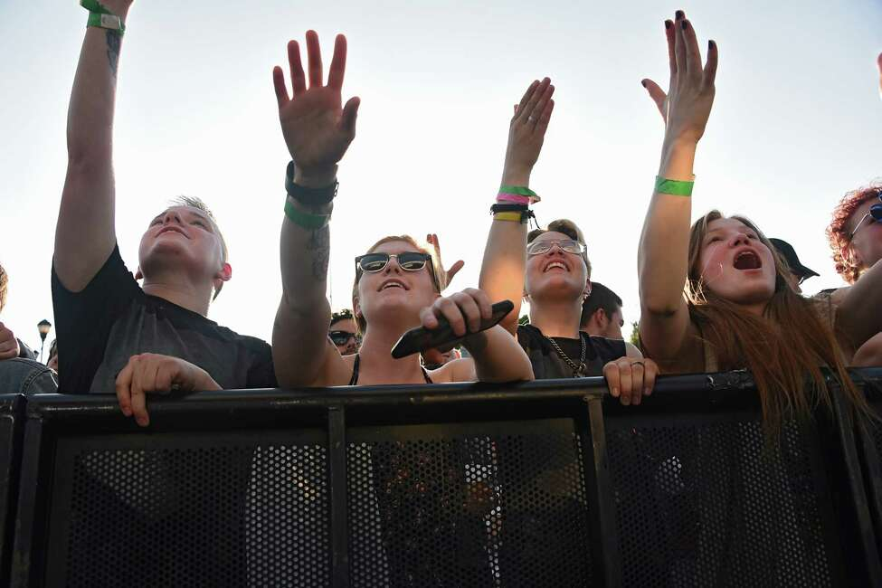 Fans enjoy Donna Missal's performance as Alive at Five concerts kicks off at Jennings Landing at the Corning Preserve on Thursday, June 6, 2019 in Albany, N.Y. (Lori Van Buren/Times Union)