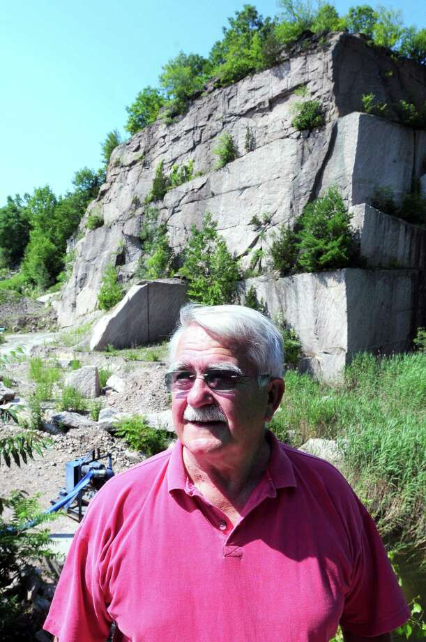 File photo. The late Carl Balestracci photographed at the Stony Creek Quarry in Branford on in 2011. Photo: Photo By Arnold Gold / Hearst Connecticut Media