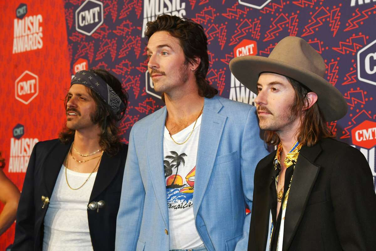 NASHVILLE, TENNESSEE - JUNE 05: The musical group Midland attends the 2019 CMT Music Awards at Bridgestone Arena on June 05, 2019 in Nashville, Tennessee. (Photo by Kevin Mazur/Getty Images for CMT)