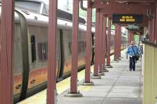 The New Canaan line of the Metro North railroad had good service Monday, May 20, 2013. Trains ran on time and were not crowded.
