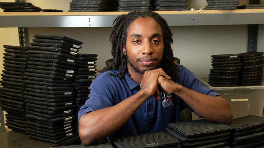 SIUE alumnus and ITS staff member Maracus Scott. Photo: For The Intelligencer