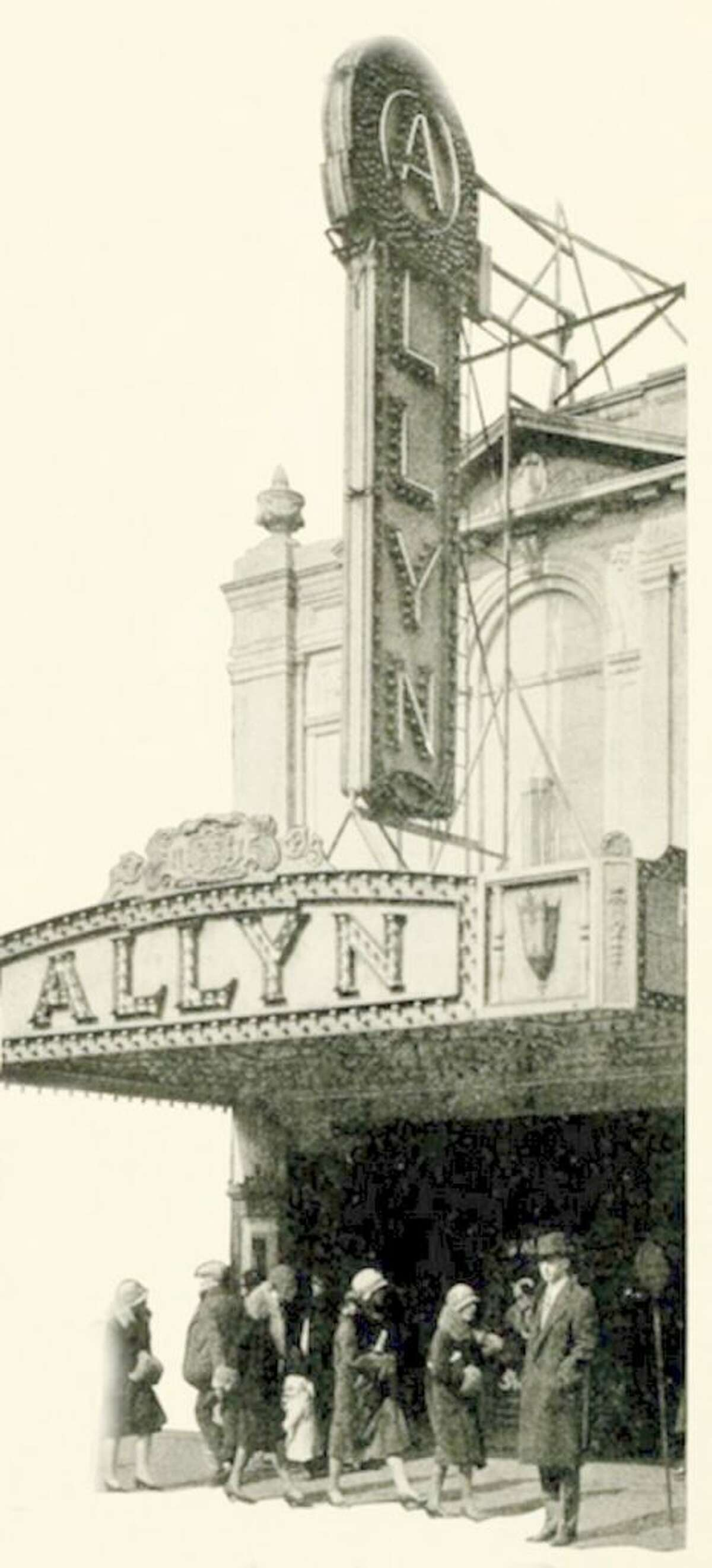 The Allyn Theater, the orginal home for the organ, was a beloved movie house. Photo credit-CVTOS-1