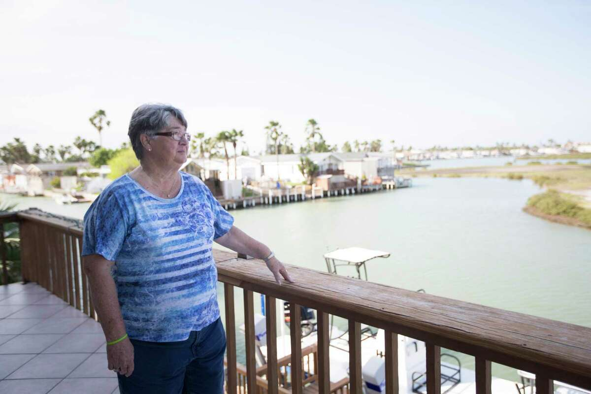 Flora Gunderson a Long Island Village neighbor who opposes liquefied natural gas plants in the Rio Grande Valley area on Friday, March 22, 2019, in Port Isabel.
