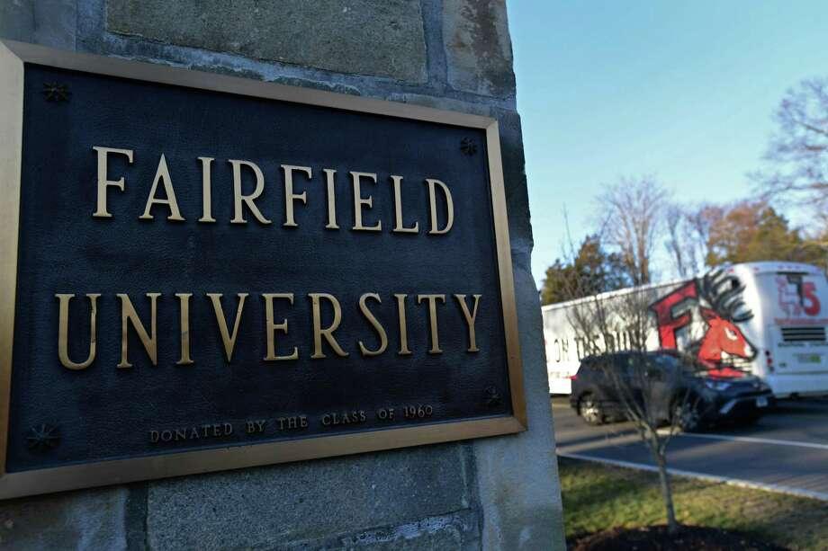 Fairfield University Photo: Erik Trautmann / Hearst Connecticut Media / Norwalk Hour