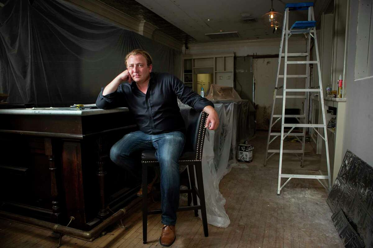 Benjamin Berg, founder of Berg Hospitality Group, is in the process of building a second B.B. Lemon on Montrose.
