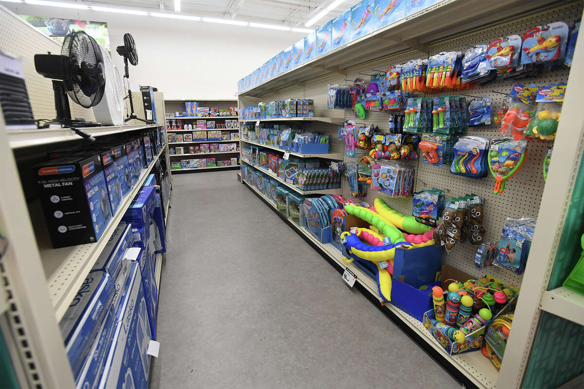 A variety of shelved items at Beaumont's new Big Lots Friday. Photo taken Friday, 6/7/19