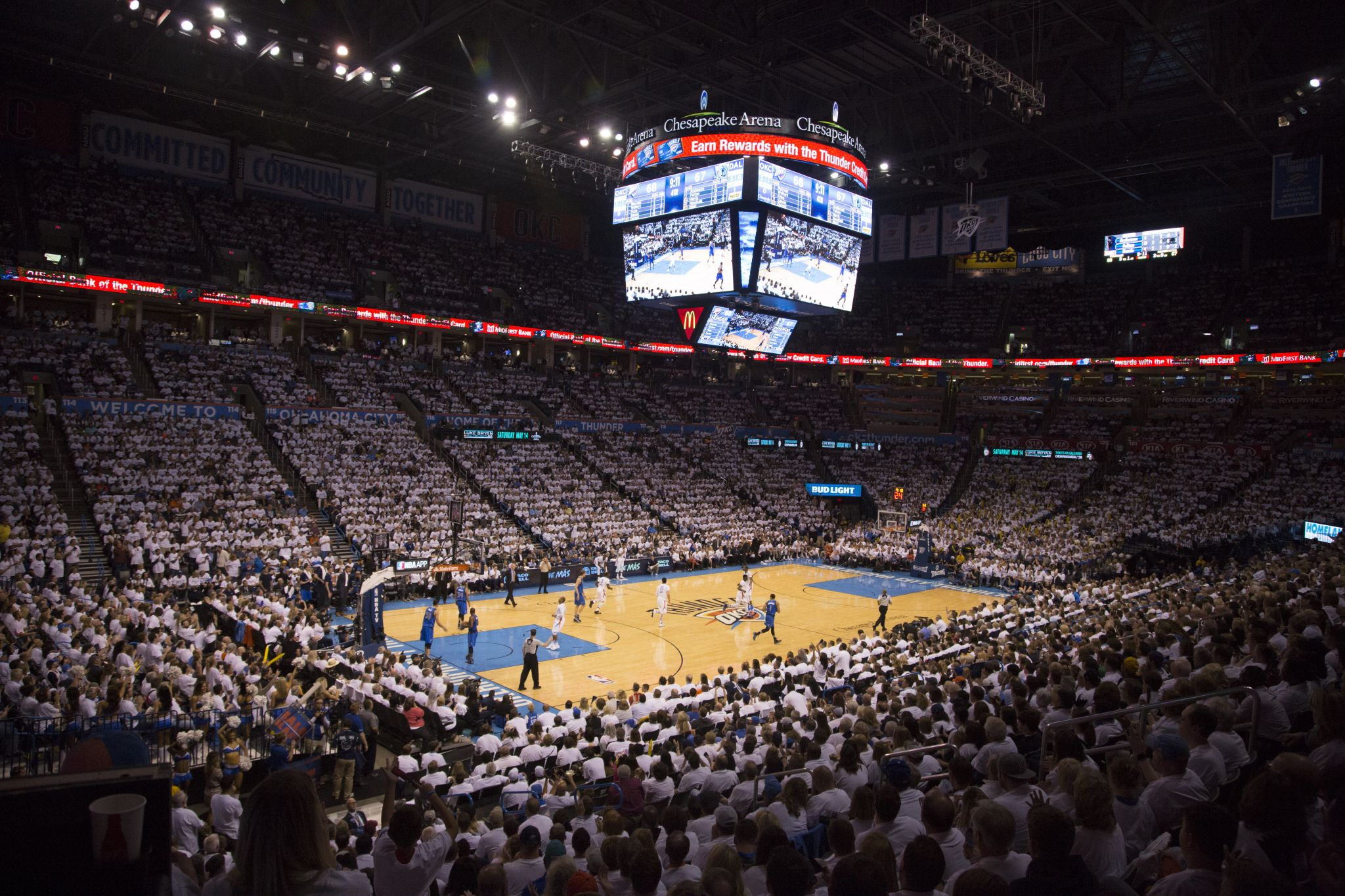 Thunder-Jazz game postponed minutes before tip-off, fans told to leave arena as virus fears rise