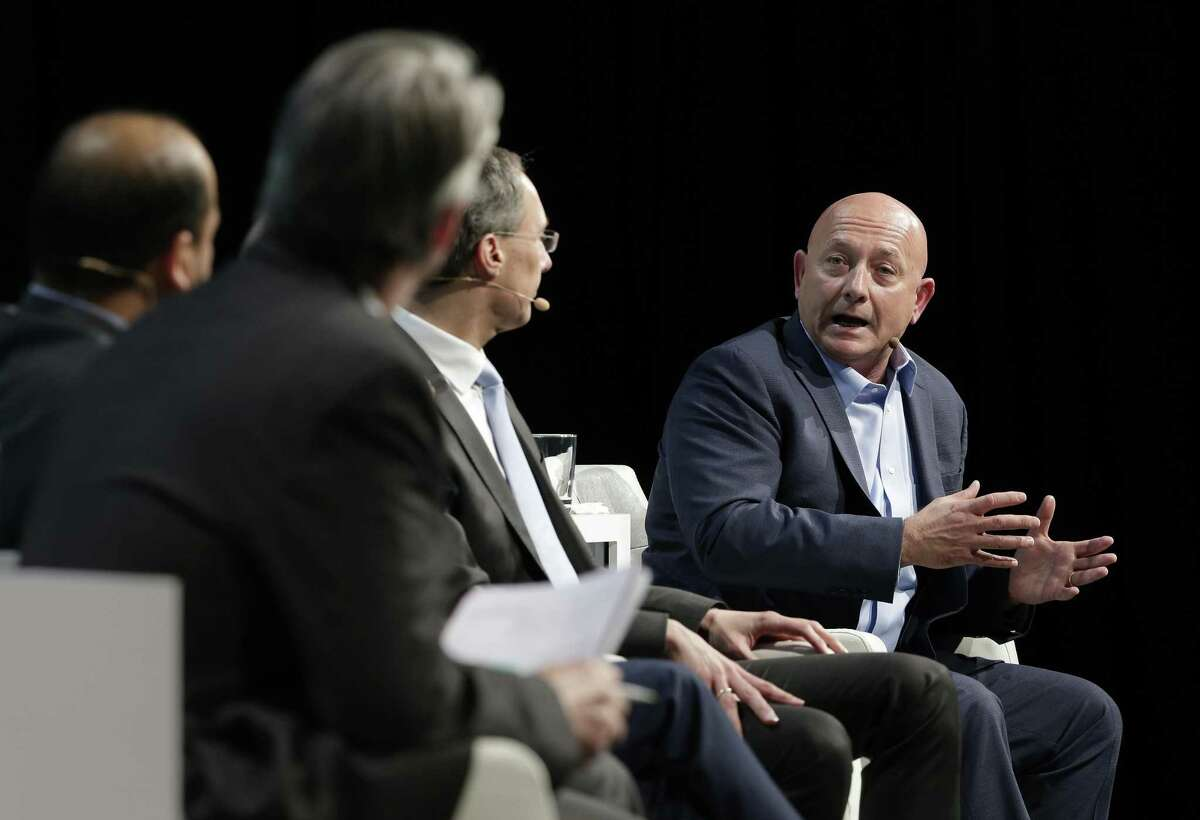 Babur Ozden, Founder and CEO of Maana Inc., comments during a panel discussion titled