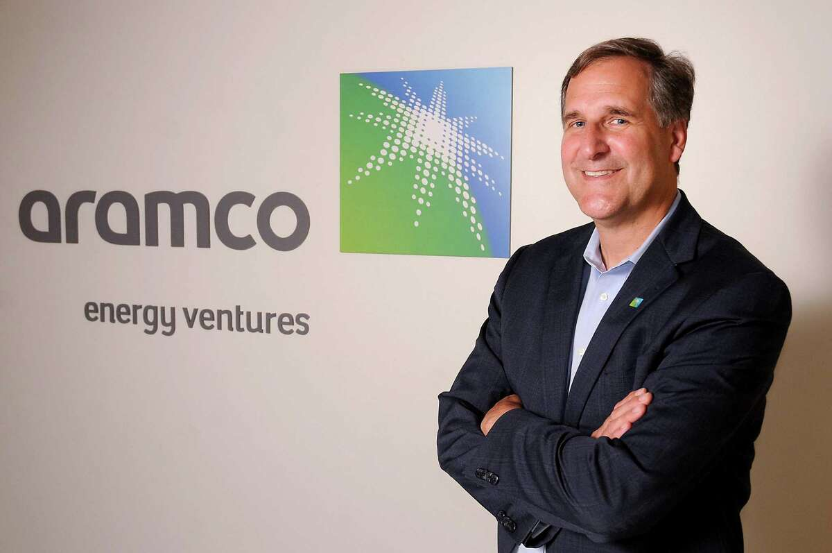 Jim Sledzik, Managing Director of the North American arm of Saudi Aramco Energy Ventures, at his office in Houston Tuesday May 21, 2019.(Dave Rossman Photo)