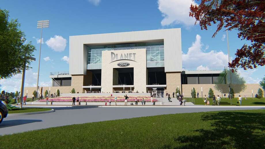 The new Spring ISD stadium will be named the Planet Ford Stadium after it signed the rights during its work meeting on June 6, 2019. Photo: Courtesy Of Spring ISD