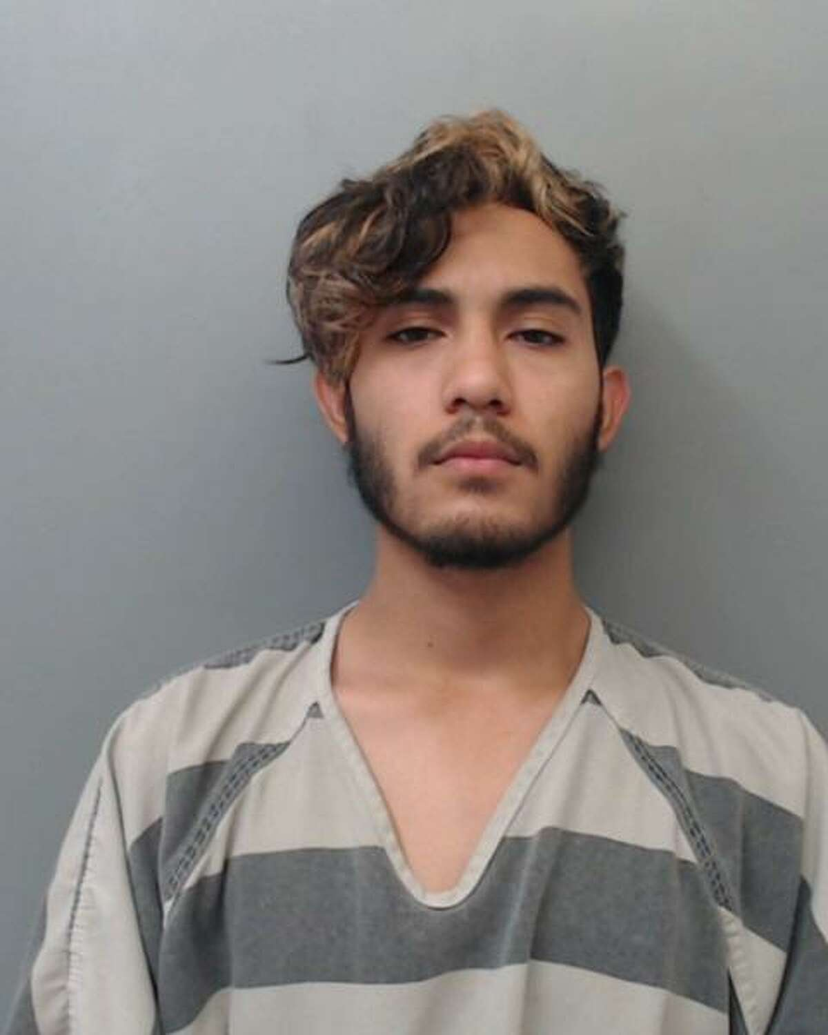 Javier Arreola, 18, was arrested and charged with making a terroristic threat and resisting arrest.