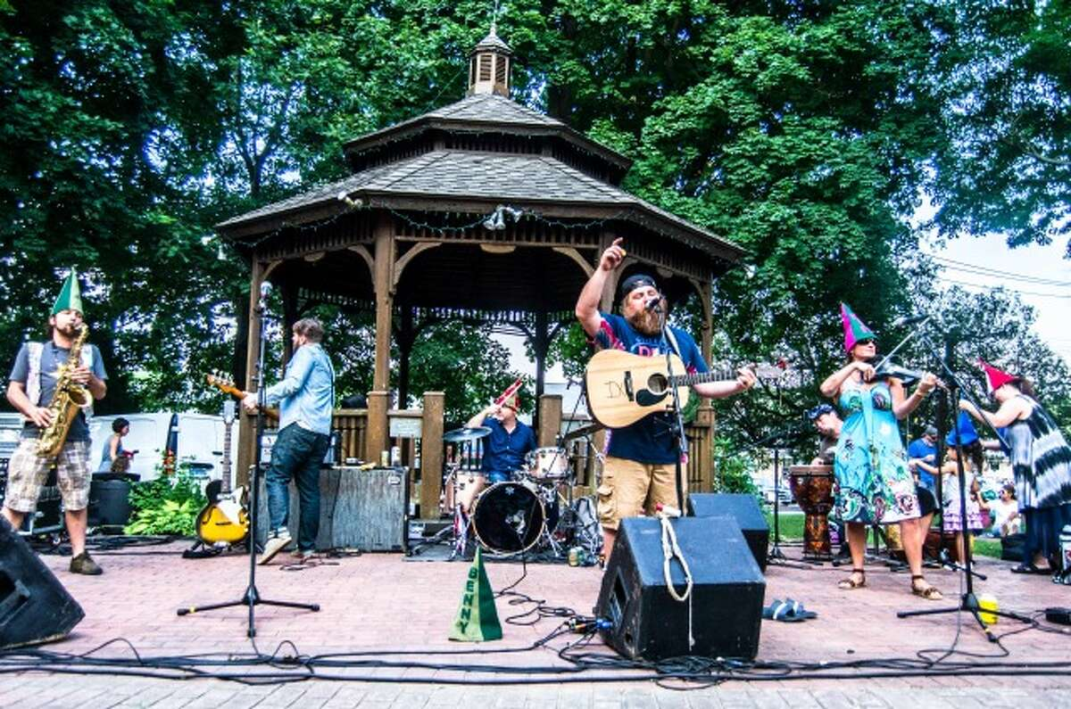 The Alpaca Gnomes on The Huntington Green July 11. - Chris Sidoruk photo