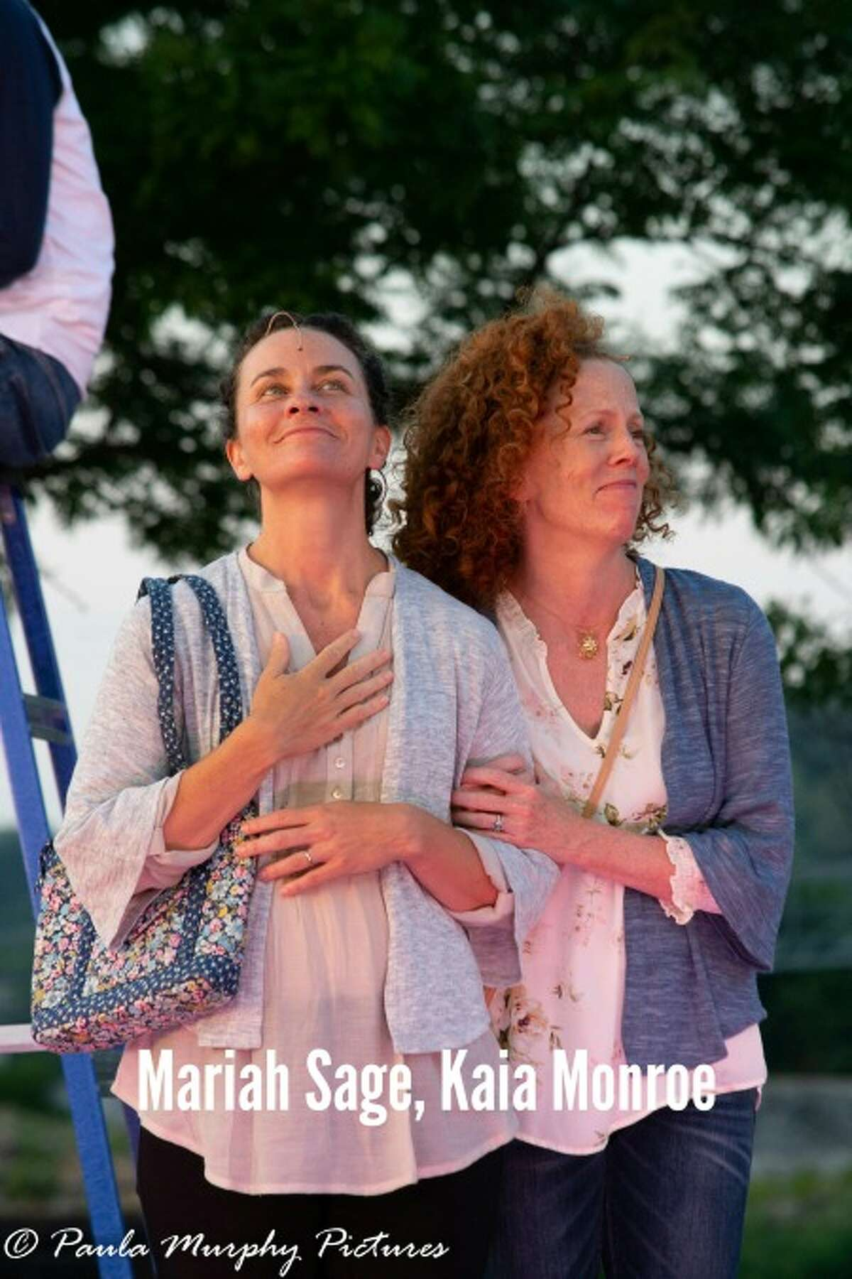'Our Town' opened Thursday night at Riverwalk Park. Free performances continue now through Sunday, July 15. - Paula Murphy Meehan photos