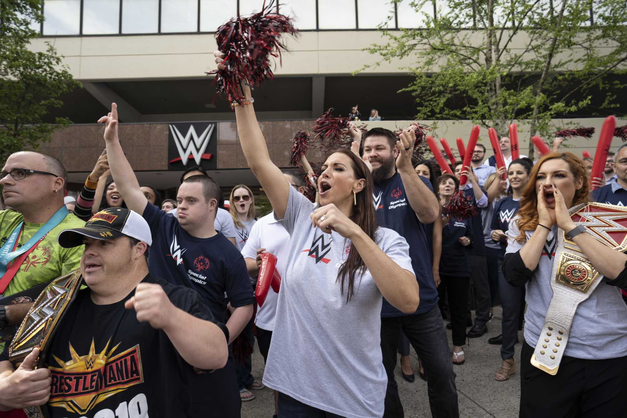 WWE Stamford HQ rallies for Special Olympics