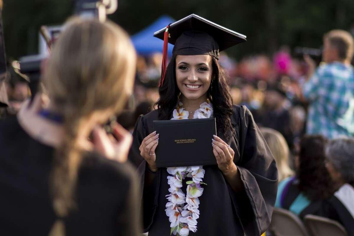 SHS graduation 98