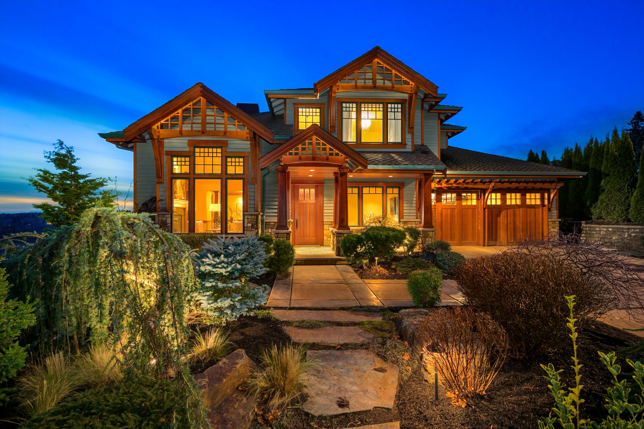 Unique Eastside Craftsman offers privacy, awe-inspiring views for $2M