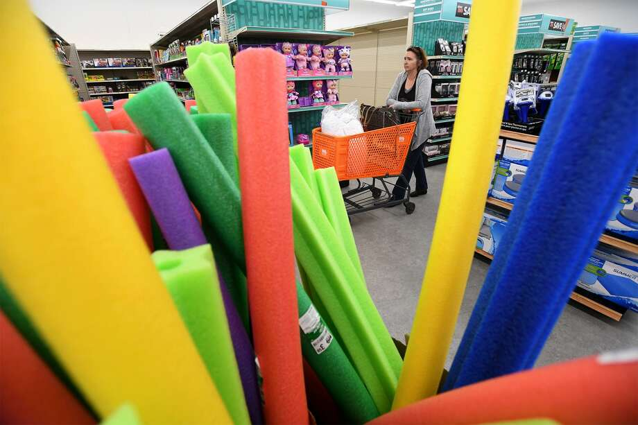 Miriam Morgan shops at Beaumont's new Big Lots early Friday morning. While the store opened two weeks ago, a grand opening was held Friday.  Photo taken Friday, 6/7/19 Photo: Guiseppe Barranco/The Enterprise, Photo Editor / Guiseppe Barranco ©