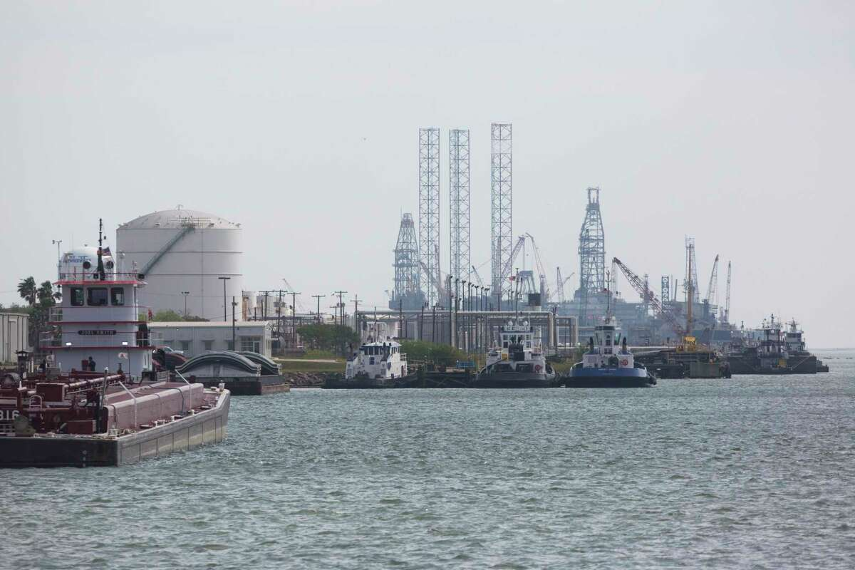 View of a section of the Port of Brownsville on Friday, March 22, 2019 which is connected to the Gulf of Mexico by a 17-mile-long ship channel.